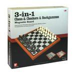 Zestaw Szachy/Backgammon/Warcaby 37,5 cm w sklepie internetowym ZagrajSAM.pl