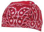 Chusta na głowę - Headwrap, czerwona z nadrukiem w sklepie internetowym  sklepikmysliwski.pl