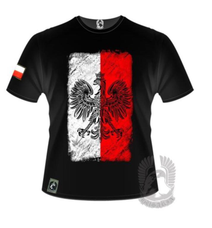 6aee42611 Koszulka patriotyczna - Orzeł na Fladze - Husaria w sklepie internetowym  sklepikmysliwski.pl. Powiększ zdjęcie