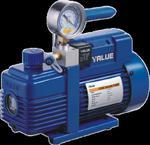 Pompa próżniowa VALUE V-i280SV 198 l./min dwustopniowa z elektrozaworem i wakuometrem w sklepie internetowym Coolmarket