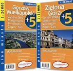 Plan miasta. Gorzów Wielkopolski, Zielona Góra. Plus5 w sklepie internetowym NaszaSzkolna.pl