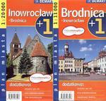 Inowrocław Brodnica plan miasta 1:20 000 w sklepie internetowym NaszaSzkolna.pl