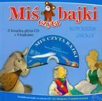 Miś czyta bajki. Kopciuszek, Osiołek. Książka z płytą CD z 4 bajkami w sklepie internetowym NaszaSzkolna.pl