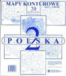 MAPA-KONTUROWA-POLSKA 2/20 NOWA ERA 83-7239-058-3 w sklepie internetowym NaszaSzkolna.pl