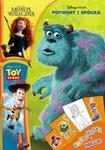 Disney Pixar filmy. Kolorowanka i naklejki (DPN-8) w sklepie internetowym NaszaSzkolna.pl