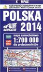 Mapa samochodowa. Polska 1:700 000 dla profesjonalistów w sklepie internetowym NaszaSzkolna.pl