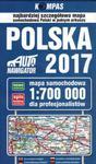 Mapa samochodowa. Polska 2017 dla profesjonalistów 1:700 000 w sklepie internetowym NaszaSzkolna.pl