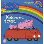 Świnka Peppa. Kolorowa tęcza. Bajeczki z książeczki + DVD w sklepie internetowym NaszaSzkolna.pl