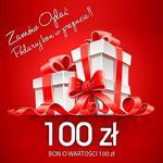 Bon podarunkowy o wartości 100 zł | uniwersalny pomysł na prezent | w sklepie internetowym Artseries.pl