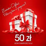 Bon podarunkowy o wartości 50 zł | uniwersalny pomysł na prezent | w sklepie internetowym Artseries.pl
