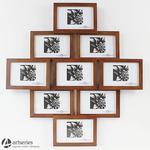 Drewniana ramka na zdjęcia 81140 przepiękny brązowy kolor w sklepie internetowym Artseries.pl