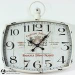 Stylowy wiszący zegar Chateau Joullian 86094 cyferblat za szkłem w sklepie internetowym Artseries.pl