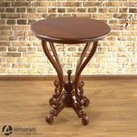 Kawowy stolik w naturalnym brązie - orzech pekan - 117108 w sklepie internetowym Artseries.pl