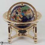Globus dekoracyjny z masy perłowej w kolorze złotym 48114 w sklepie internetowym Artseries.pl