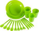 Zestaw naczyń Piknik Plus Rockland / GWARANCJA 12 MSC. w sklepie internetowym Sport-Shop.pl
