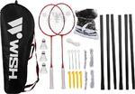 Zestaw do badmintona Wish 5566 (czerwony) / GWARANCJA 12 MSC. w sklepie internetowym Sport-Shop.pl