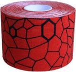 Taśma Kinesio 5cm x 5m Thera-Band (czerwono-czarna) w sklepie internetowym Sport-Shop.pl