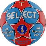 Piłka ręczna Match Soft 3 Select (niebiesko-czerwona) / Tanie RATY w sklepie internetowym Sport-Shop.pl