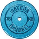 Talerz niebieskie żeliwo 15kg Meteor / Tanie RATY w sklepie internetowym Sport-Shop.pl
