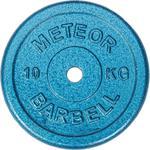 Talerz niebieskie żeliwo 10kg Meteor / Tanie RATY w sklepie internetowym Sport-Shop.pl