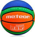 Piłka do koszykówki RBW Cellular #5 Meteor (pomarańczowo-zielono-niebieska) w sklepie internetowym Sport-Shop.pl