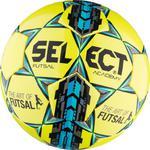 Piłka nożna Futsal Academy 4 Select (żółto-niebieska) w sklepie internetowym Sport-Shop.pl