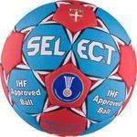 Piłka ręczna Match Soft Junior/Ladies 2 Select (niebiesko-czerwona) / Tanie RATY w sklepie internetowym Sport-Shop.pl