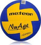 Piłka ręczna NuAge Mini 0 Meteor (niebiesko-żółta) w sklepie internetowym Sport-Shop.pl