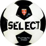 Piłka nożna Futsal Pro 4 Select (biało-czarna) w sklepie internetowym Sport-Shop.pl
