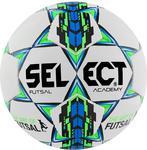 Piłka nożna Futsal Academy 4 Select (biało-zielono-niebieska) w sklepie internetowym Sport-Shop.pl