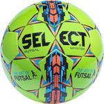 Piłka nożna Futsal Master 4 Select (zielono-niebiesko-pomarańczowa) / Tanie RATY w sklepie internetowym Sport-Shop.pl