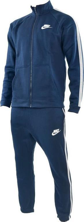 66832cd06f0a Dres męski Sportswear NSW Track Suit Fleece Season Nike (granatowy)   Tanie  RATY w. Powiększ zdjęcie