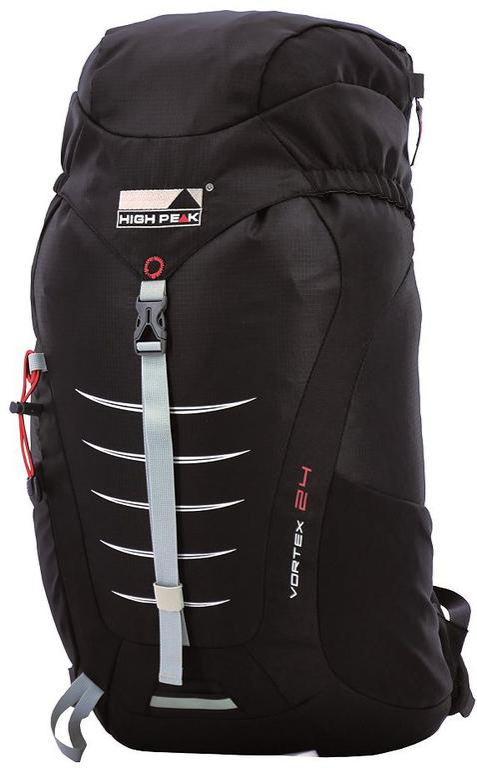 1539ff04ec89c Plecak trekkingowy Vortex 24L High Peak (czarny)   Tanie RATY w sklepie  internetowym Sport. Powiększ zdjęcie