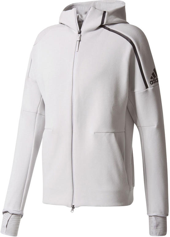 af5efebe3 Bluza z kapturem męska Z.N.E. 2.0 Adidas (szara) / Tanie RATY / DOSTAWA  GRATIS. Powiększ zdjęcie