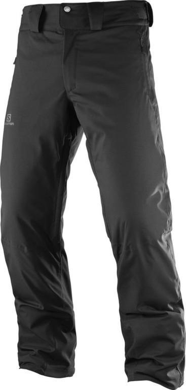 Spodnie narciarskie męskie Stormrace Salomon (pomarańczowe