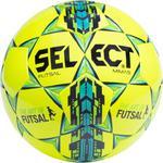 Piłka nożna futsal Mimas 4 Select (żółto-zielono-niebieska) / Tanie RATY w sklepie internetowym Sport-Shop.pl
