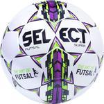 Piłka nożna Futsal Super FIFA rozm. 5 Select (biało-fioletowa) / Tanie RATY w sklepie internetowym Sport-Shop.pl