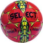 Piłka nożna Futsal Samba roz. 4 Select (czerwono-żółta) / Tanie RATY w sklepie internetowym Sport-Shop.pl