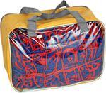 Siatka na bramkę do piłki ręcznej Hiflar Spokey (czerwono-niebieska) / GWARANCJA 12 MSC. / Tanie RATY w sklepie internetowym Sport-Shop.pl