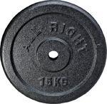 Obciążenie żeliwne 15kg 28mm Hammertone Allright / Tanie RATY w sklepie internetowym Sport-Shop.pl