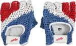 Rękawiczki sportowe z siatką Allright (niebiesko-biało-czerwone) w sklepie internetowym Sport-Shop.pl