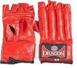 Rękawice przyrządowe rurki Dragon skóra naturalna (czerwone) / GWARANCJA 12 MSC. w sklepie internetowym Sport-Shop.pl