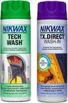 Zestaw impregnatów Tech Wash + TX.Direct Wash-IN Nikwax (2x300ml) w sklepie internetowym Sport-Shop.pl