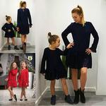 VOGA ELEGANCE - zestaw koronkowych sukienek MAMA & CÓRKA w sklepie internetowym Kidsbutik