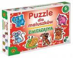 Puzzle dla maluszków - Zwierzątka w sklepie internetowym lidibrii.pl