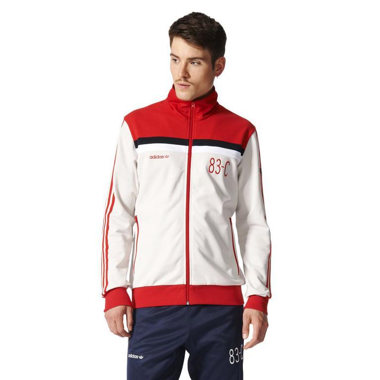 5c6953d81 Bluza Adidas Originals 83-C Tracktop męska dresowa sportowa rozpinana w  sklepie internetowym Marionex. Powiększ zdjęcie