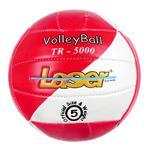 Piłka Siatkowa Laser TR-5000 do siatki - biało-czerwony w sklepie internetowym Marionex.pl