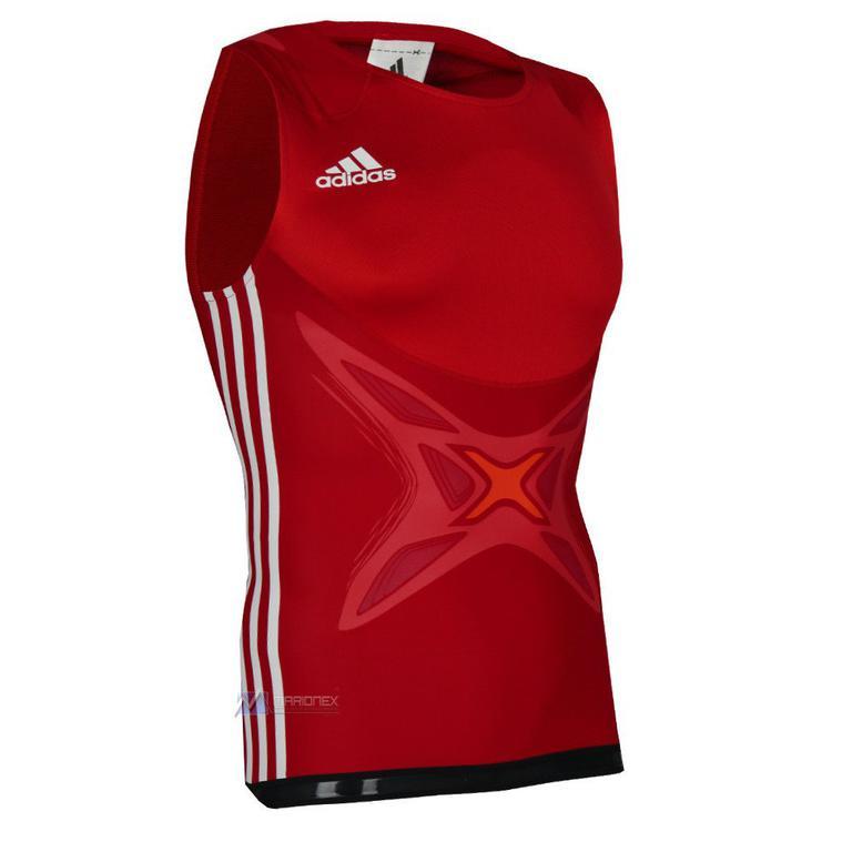 c3c0462cce883 Koszulka Adidas AdiPower Powerweb męska bezrękawnik sportowy - czerwony w sklepie  internetowym Marionex.pl. Powiększ zdjęcie