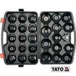 YATO Klucze nasadowe do filtrów oleju kpl. 30 szt. YT-0596 w sklepie internetowym Kammar24.pl