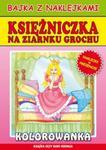 Księżniczka na ziarnku grochu Bajka z naklejkami w sklepie internetowym Booknet.net.pl